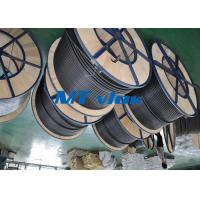Buy cheap MTSCOSSCT55 TP316 / 316L 3 8 stainless steel coil tubing For Hater tubing line product