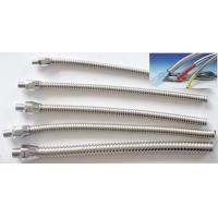 Buy cheap DELIKON small bore flexible Stainless Steel Conduit for fibre optics protection,  telecom cable protection flexible conduit product
