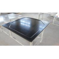 Buy cheap Black  Epoxy Resin Worktop with Glare Surface and Marine Edge product