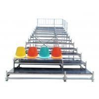 Buy cheap Durable Steel Fixed Arena Bleacher Grandstand System For Exhibition from Wholesalers