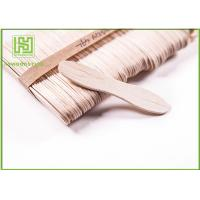Buy cheap Customized Birch Wooden Ice Cream Sticks Craft For Toddlers 114MM with Natural Color product