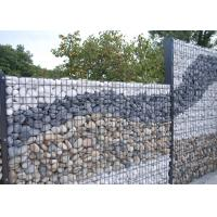 China Flexible Decorative Gabion Baskets / Gabion Stone Fence 1 - 5 Meter Length on sale