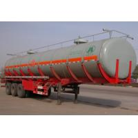 Buy cheap Road Truck Fuel Tanks , Semi Water Tank Truck For Liquid Transportation product