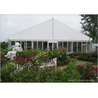 Buy cheap Gorgeous Transparent Glass Outdoor Party Tents , 850g/Sqm PVC Fabric 20x30 Tent product