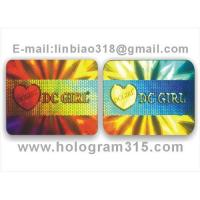China Holograms label on sale