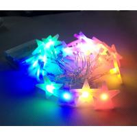 Buy cheap christmas tree decoration star shapes RGBY battery string light product
