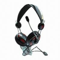 Buy cheap New Metallic Headset, Perfect for Listening Music, Chatting and Online Video Games product