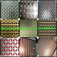 Buy cheap Decorative aluminum perforated metal product