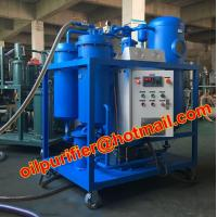 Buy cheap Lubrication Oil Dehydrating Special Vacuum filtration plant Purifier Turbine Oil , Hydraulic Oil , Freezing Machine Oil product
