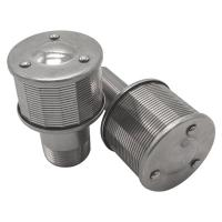 Buy cheap Stainless steel wedge wire water nozzle strainer product