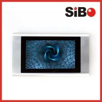 """7"""" Wall Mounting Industrial Grade Aluminum Android Tablet For Meeting Room Booking"""