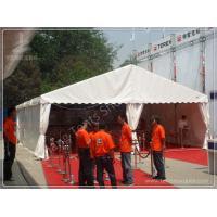 Buy cheap White Fabric Cover Aluminium Frame Marquee Temporary Outdoor Event Tent Rental from Wholesalers