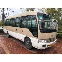 Buy cheap 2010 Year Toyota Coaster Used Bus 23 Seats 15B Diesel Engine 2585mm Bus Height product