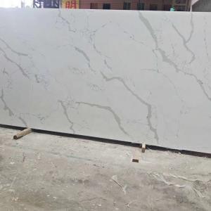 Buy cheap Fish Belly White Snow White Quartz Stone Tiles Slabs High Hardness product
