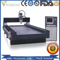 Quality stone carving cnc router TMS1325C for nonmetal and softmetal material. THREECNC for sale