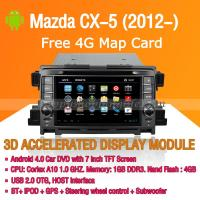 Buy cheap Android Car DVD Player GPS Navigation Wifi 3G for Mazda CX-5 Bluetooth Touch Screen product