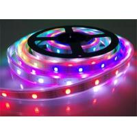 Buy cheap SMD 5050 Rgb Led Strip Addressable Pixel WS2813 5V DC Magic Epistar Chip For Indoor product