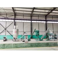 Buy cheap Simple Operation Customized Feed Pellet Production Line Simple Structure product
