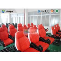 Buy cheap Dynamic Movie Theater Seats In 5D Motion Theatre With Electric / Pneumatic / Hydraulic System product