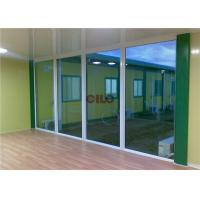Quality Foldable Expandable Flat Pack Container House With Aluminum Big Glass Window for sale