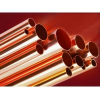China Superior Elongation Brass Copper Water Tube BFe30-1-1 / BFe10-1-1 on sale