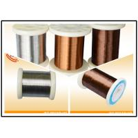 200-260HB Hardness Copper Nickel Alloy , Copper Beryllium Wire for Resistance Element