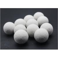 Buy cheap Grey White Inert Catalyst Bed Support Balls Superior Grinding Efficiency product