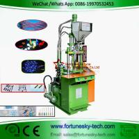 Buy cheap Vertical plastic injection molding machine JY-160S2 Plastic Injector For LED Light/Lamp product