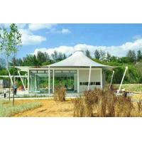 Buy cheap Luxury resort vacation resort canopy Camp tent hotel with lining and floor from Wholesalers