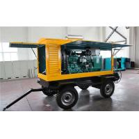 Buy cheap Cummins 300 KW Trailer Mounted Diesel Generator Electric Statring Water Cooling product