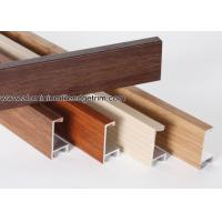 Buy cheap Wood Grain Effect Aluminium Picture Frame Mouldings For Art Show product