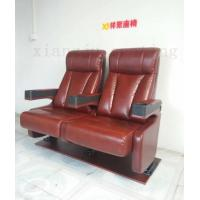 Vip Home Theatre Seating Chairs Genuine Leather Fixed Theatre Style Seating O