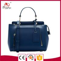 Buy cheap Fashion women blue genuine leather bags product