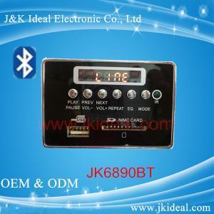 Buy cheap JK6890BT   SD card usb aux fm bluetooth mp3 player module for amplifier product