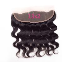 Buy cheap Black In 13X2 Body Wave Lace Frontal Closure Cheap Human Hair Frontal Lace Closure product