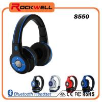 China 2014 china factory price wireless stereo bluetooth headset on sale