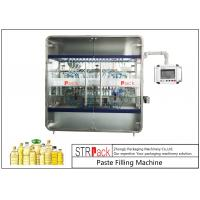Buy cheap 10 Nozzles Cooking Oil Filling Machine , Edible Vegetable Oil Bottling Equipment 0.5-5L 3000 B/H product