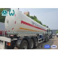 55CBM High Strength Environmental LPG Semi Trailer For Liquid Propane Transport