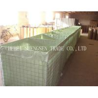 Buy cheap Hexagonal Hole Shape Stone Cage Wire Mesh / Gabion Wall Baskets For Fence product