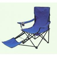 China Folding Camping Chair  With Footrest on sale