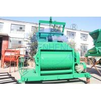 Buy cheap Vertical Twin Shaft JS1000 Concrete Mixer For Middle / Large Scale Construction Machine product