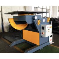 Buy cheap Remote Hand Control Steel Structure 3 T Tilting Turn Rotary Table for Welding CE product