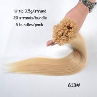 Buy cheap High Quality Different Length Color or String U Tip Hair Extension product