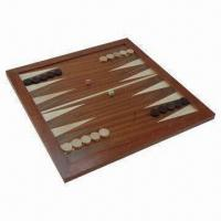 Buy cheap Wooden Chess, Measures 44 x 44 x 2cm, Weighs 1.7kg product