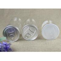 Buy cheap 50ml Food Grade Clear Plastic Cylinder Tubes , Transparent PET Nut Cans product