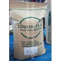 Buy cheap EDDHA Fe 6% O-O organic iron fertilizer farming inputs product