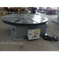 China Horizontal Welding Positioner Turntable 0.25kw UK Motor 1200mm Table Diameter on sale