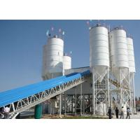 Buy cheap 60m3/H Stationary Belt Type Concrete Batching Plant Stable Working Compact Structure product