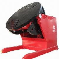 Buy cheap Welding Positioner/Turntable, CE-certified, 5,000kg Rated Loading Capacity product
