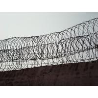 Single coil fence security wire sharp razor barbed wire fence